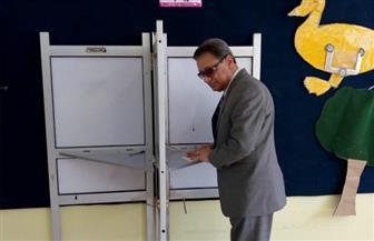 """كرم جبر يدلي بصوته بالتجمع الخامس ويؤكد: كثافة التصويت رسالة للإرهابيين """"لقد حانت نهايتكم"""""""