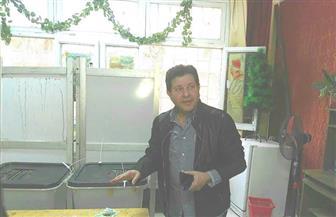 هاني شاكر يدلي بصوته في الانتخابات الرئاسية بالمدرسة الفندقية في الهرم   فيديو