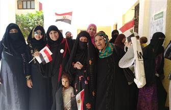 المرأة في مقدمة الناخبين بجنوب سيناء | صور