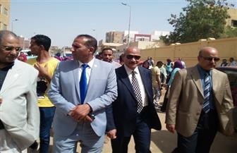 مسيرة لتحفيز الطلاب بأسوان للمشاركة بالانتخابات يتصدرها رئيس الجامعة  | صور