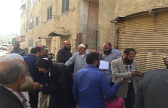 قيادات حزب النور تدلي بصوتها في الانتخابات الرئاسية بكفر الشيخ | صور
