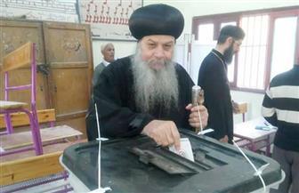 أساقفة الكنيسة القبطية الأرثوذكسية يشاركون في الانتخابات الرئاسية  صور