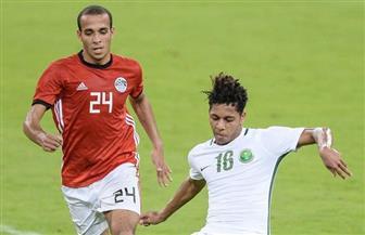 تعادل المنتخب الأولمبي المصري مع نظيره السعودي