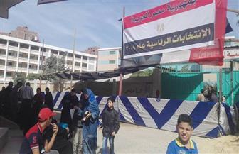 استمرار توافد الناخبين على لجان حي المعصرة في اليوم الأخير لانتخابات الرئاسة