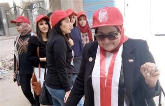 سيدات البحيرة يتصدرن المشهد في اليوم الثاني للانتخابات الرئاسية | صور