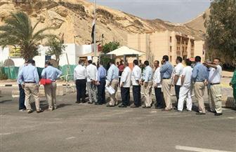 إقبال كثيف في لجان جنوب سيناء.. والسيدات والشباب أكثر مشاركة | صور