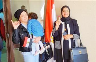 أمهات وزوجات الشهداء يشاركن بكثافة في الانتخابات الرئاسية| صور