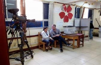 مراقبون دوليون يتفقدون لجان لانتخابات الرئاسة فى طنطا | صور