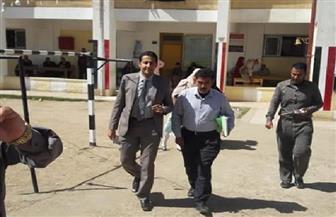 رئيس لجنة في قرية أبوجريدة بدمياط يخرج بالكشوف لمساعدة سيدة من ذوي الاحتياجات على الإدلاء بصوتها | صور