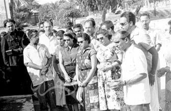 فنانو مصر يساندون الوطن.. صور نادرة تعود لعام 1956
