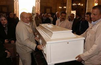 تشييع جنازة لويس جريس بالكنيسة البطرسية | صور