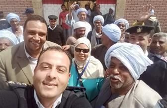 إقبال ملحوظ من المواطنين على اللجان الانتخابية بمسقط رأس شيخ الأزهر | صور