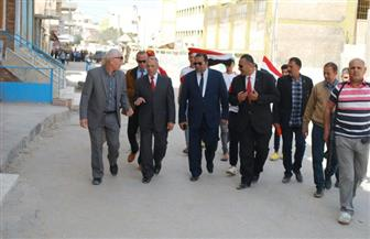 محافظ ومدير أمن شمال سيناء يتفقدان سير الانتخابات الرئاسية | صور
