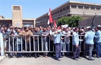 مسيرات عمالية بالمحلة للحث على المشاركة فى الانتخابات | صور