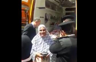 التنمية المحلية توفر سيارة إسعاف لنقل مواطنين إلى مقر لجان الانتخاب بالإسكندرية   فيديو