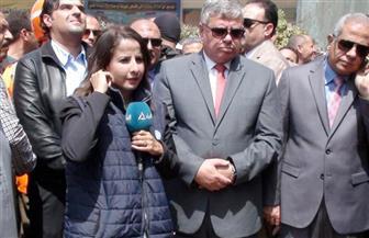 مدير أمن المنوفية يتفقد اللجان الانتخابية بـ 4 مراكز لمتابعة التصويت | صور