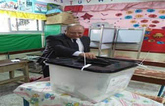 رئيس مجلس الدولة يدلي بصوته في الانتخابات الرئاسية | صور