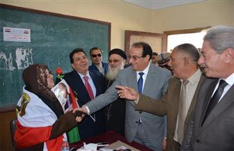 محافظ الدقهلية ومدير الأمن يتفقدان لجان الانتخابات في ميت غمر والسنبلاوين وأجا | صور