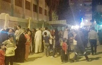 تزايد ملحوظ على اللجان الانتخابية بحلوان مساء اليوم الثاني للانتخابات الرئاسية | صور