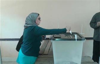 غلق باب التصويت باللجان الانتخابية بالطالبية