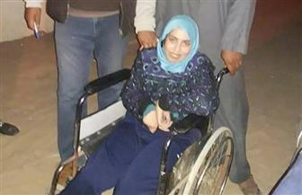 فتاة من ذوي الاحتياجات الخاصة تحرص على الإدلاء بصوتها في الانتخابات الرئاسية بالإسماعيلية