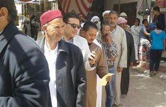 أهالي مطروح يواصلون الإقبال على صناديق الاقتراع في الانتخابات الرئاسية   صور