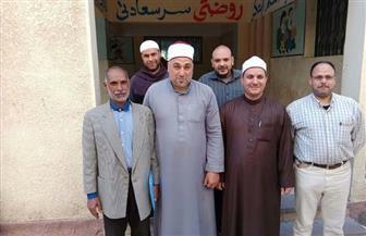 وكيل أوقاف كفر الشيخ وعدد من الأئمة يزورون عددا من اللجان الانتخابية   صور