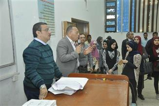 طلاب جامعة قناة السويس يدلون بأصواتهم في الانتخابات الرئاسية | صور