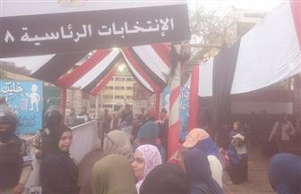 بدء التصويت في لجان شبرا .. والسيدات يحرصن على التواجد قبل الموعد
