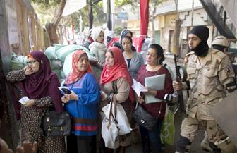 إقبال كبير من الناخبين للتصويت باليوم الأخير فى انتخابات الرئاسة بالدقي