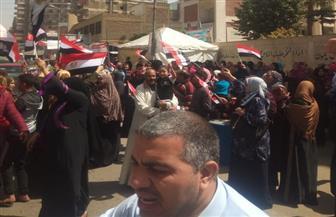 طوابير الناخبين أمام لجان الزيتون للتصويت في الانتخابات الرئاسية| فيديو وصور