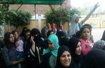 إقبال كبير من السيدات على لجان زفتى في اليوم الأخير لانتخابات الرئاسة