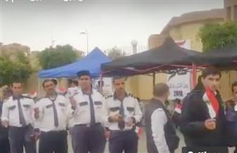 الوافدون يحتشدون للتصويت في مدينتي.. وطوابير السيدات بالزاوية| فيديو