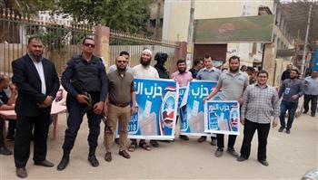 حزب النور بأسيوط يواصل حشد المواطنين للمشاركة في الانتخابات الرئاسية | صور