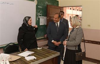 أمين مساعد الجامعة العربية تشيد بتنظيم الهيئة الوطنية للانتخابات الرئاسية | صور