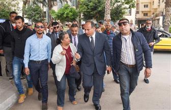 محافظ الإسكندرية يتفقد لجنة مركز شباب سموحة | صور