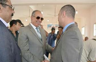 محافظ البحر الأحمر يتفقد اللجان الانتخابية بمدينة رأس غارب | صور