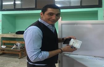 عضو إدارة الأهلي يشارك في الانتخابات الرئاسية