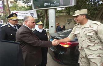 مدير أمن القاهرة يتفقد المقار الانتخابية ويؤكد استمرار الخدمات الأمنية | صور