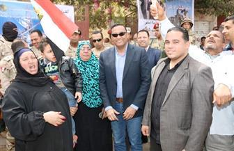 سكرتير عام محافظة المنوفية يتفقد اللجان الانتخابية بتلا والشهداء | صور