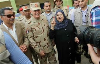 رئيس أركان القوات المسلحة يتفقد عددا من اللجان الانتخابية بالإسماعيلية