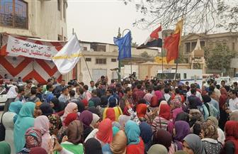 مسيرة طلابية بشوارع أسيوط للحث على المشاركة في الانتخابات | صور
