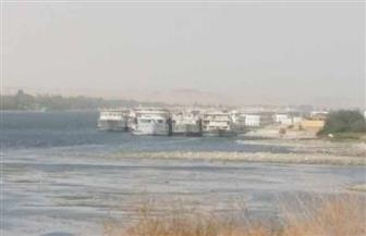 توقف الملاحة النهرية وغلق الطريق الصحراوي الغربي بالأقصر بسبب العاصفة الترابية