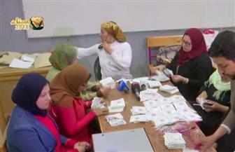 لجنة مدرسة إبراهيم الرفاعي بالإسماعيلية: حصول السيسي على 1553 صوتا مقابل 65 لموسى