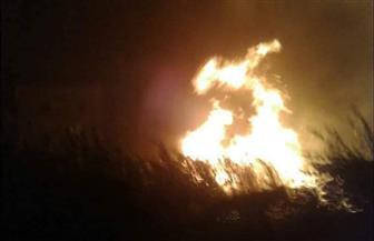 حريق بمبنى مخازن قناطر نجع حمادي وامتداده لمبنى الورش
