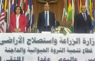 """""""البنا"""" يفتتح ملتقى صناع الثروة الحيوانية بتهنئة المصريين لنجاح التجربة الديمقراطية"""