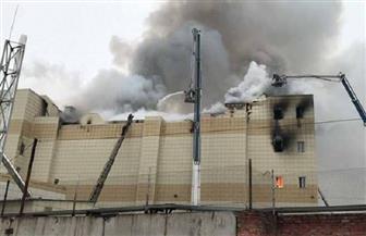 تحسن حالة طفل قفز من الطابق الرابع هربا من حريق المركز التجاري بروسيا