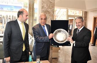 سفراء الدول العربية المعتمدون لدى مصر يحتفون بالوزير أحمد قطان | صور