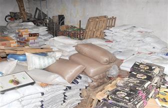 شرطة التموين والتجارة تضبط 28 قضية سلع مجهولة المصدر