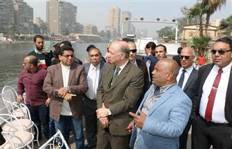 محافظ القاهرة: تخلصنا من ميول سور كوبري الجلاء | صور